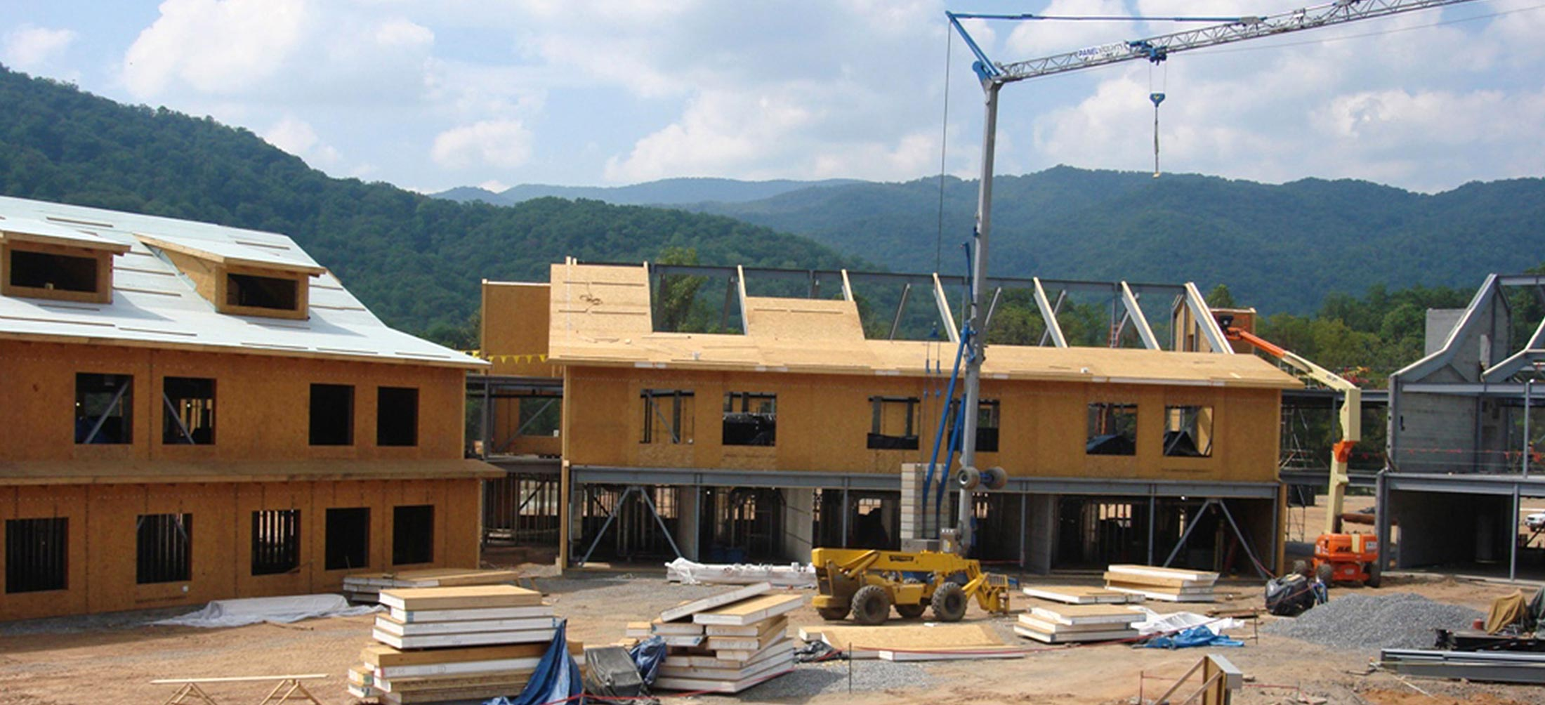 Structural Insulated Panels at Cherokee Nation School