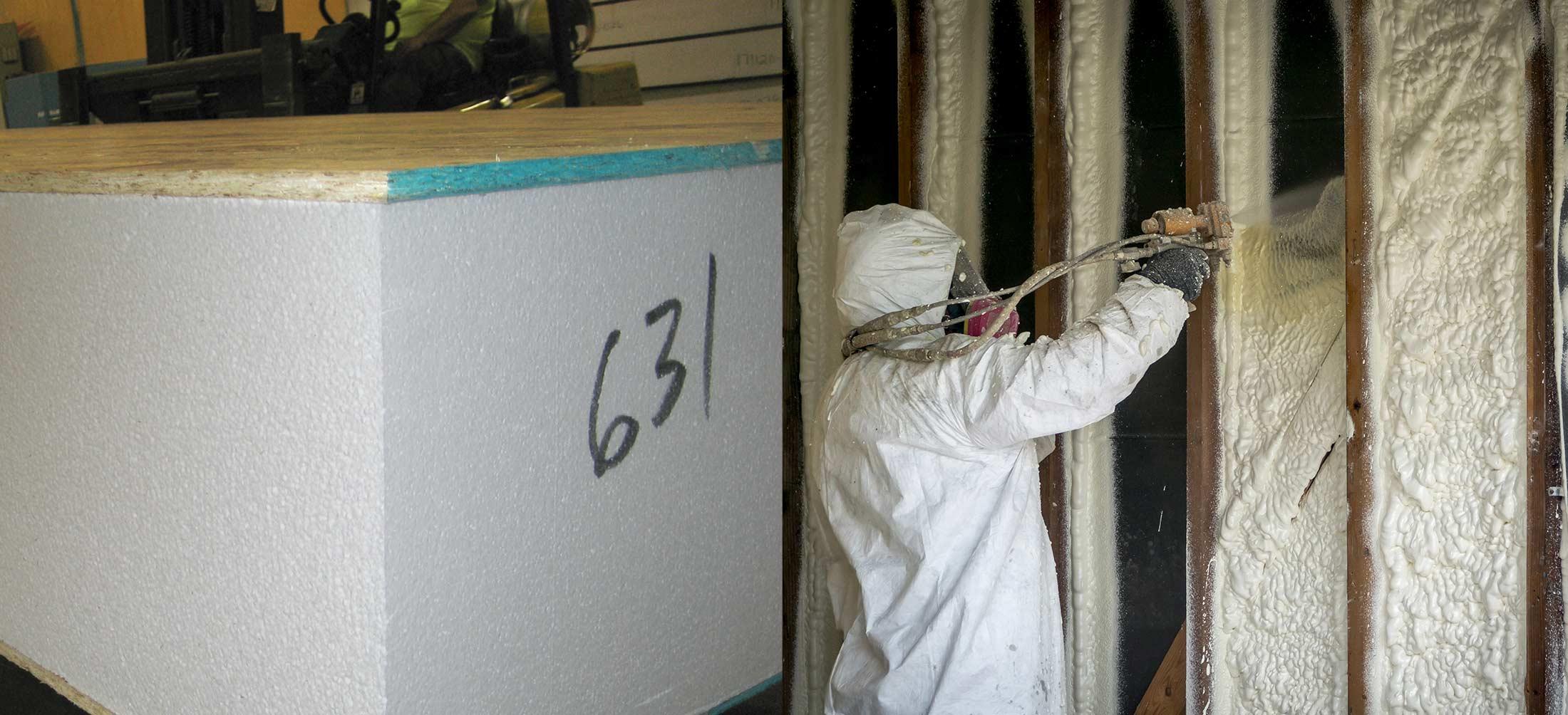 EPS insulation vs PUR