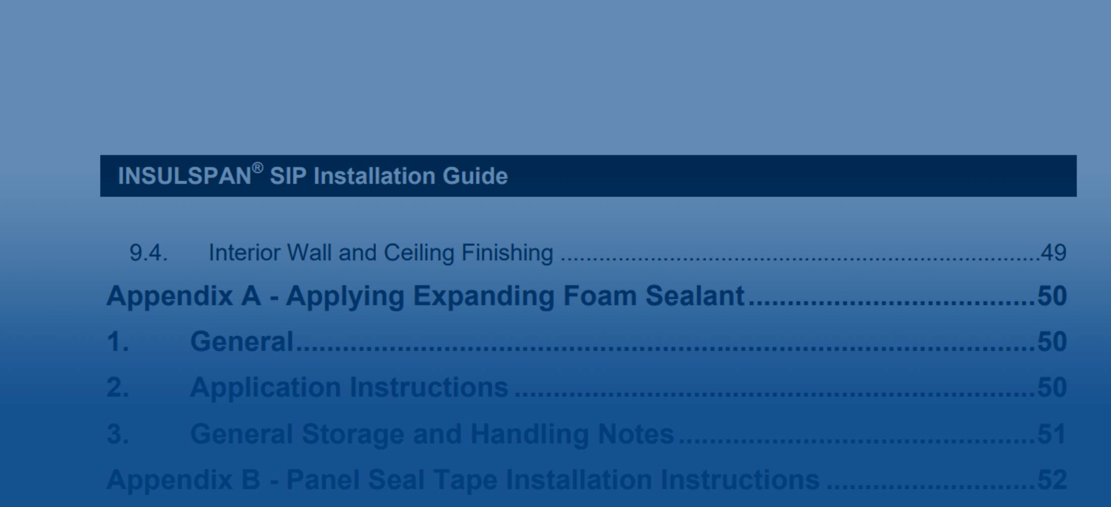 Insulspan Installation Guide | SIP Assembly Details