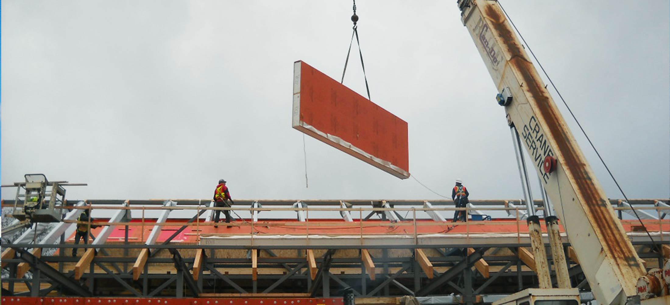Insulspan SIP Roof Panel MEC Coop