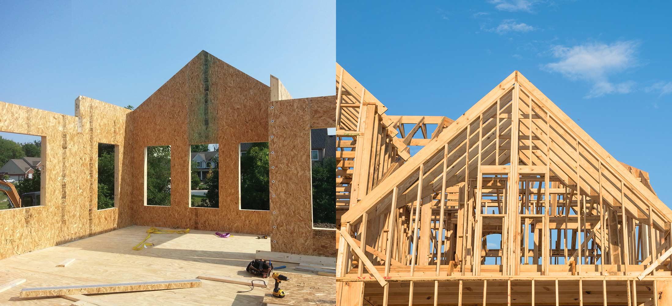 SIP vs Stick Frame Construction