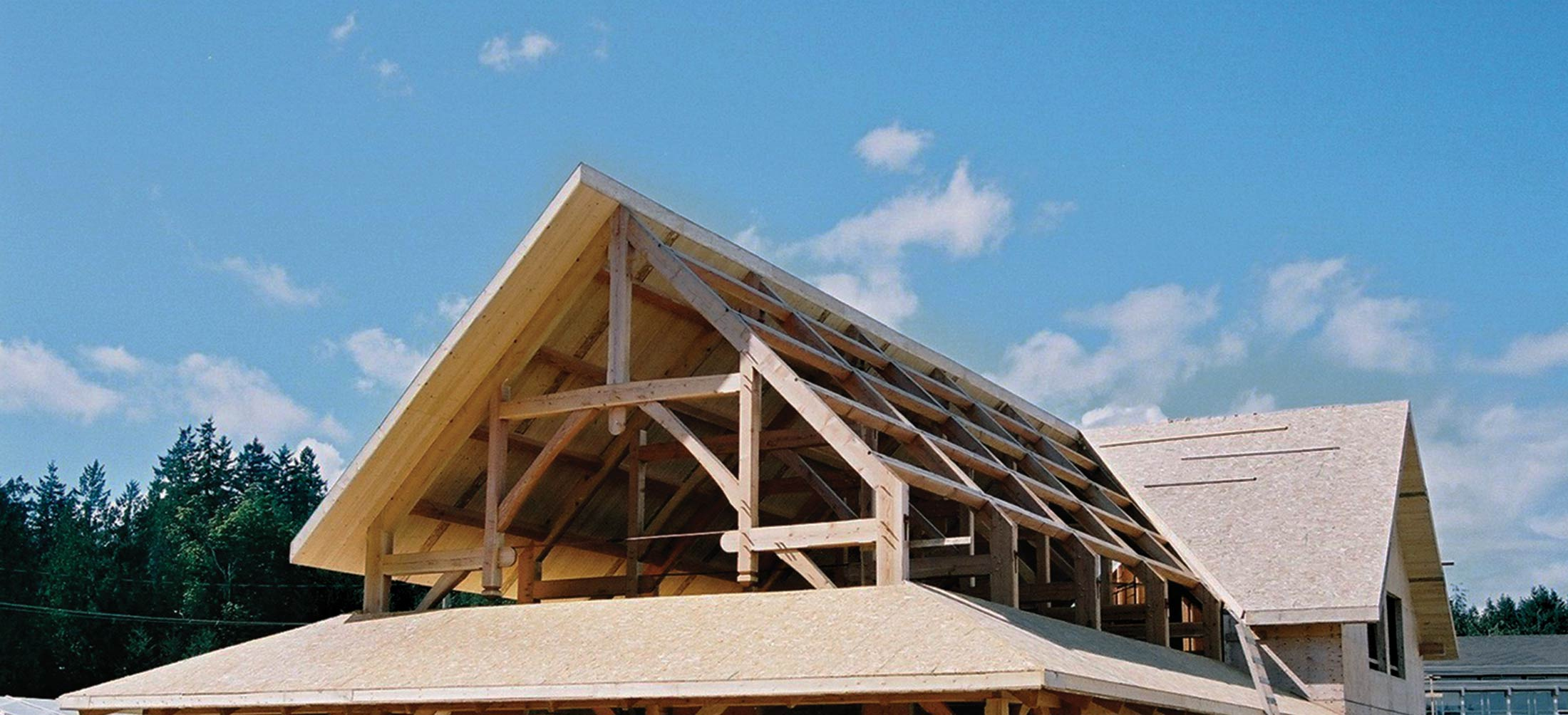 SIP and Timber Frame Structure