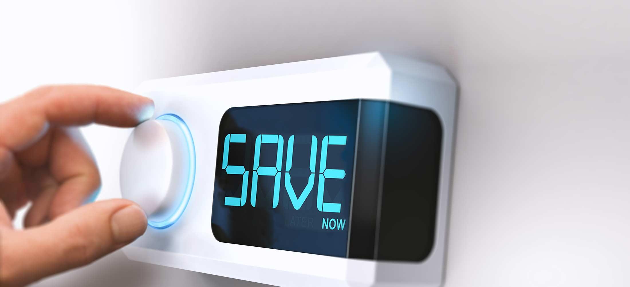 Cut energy bills