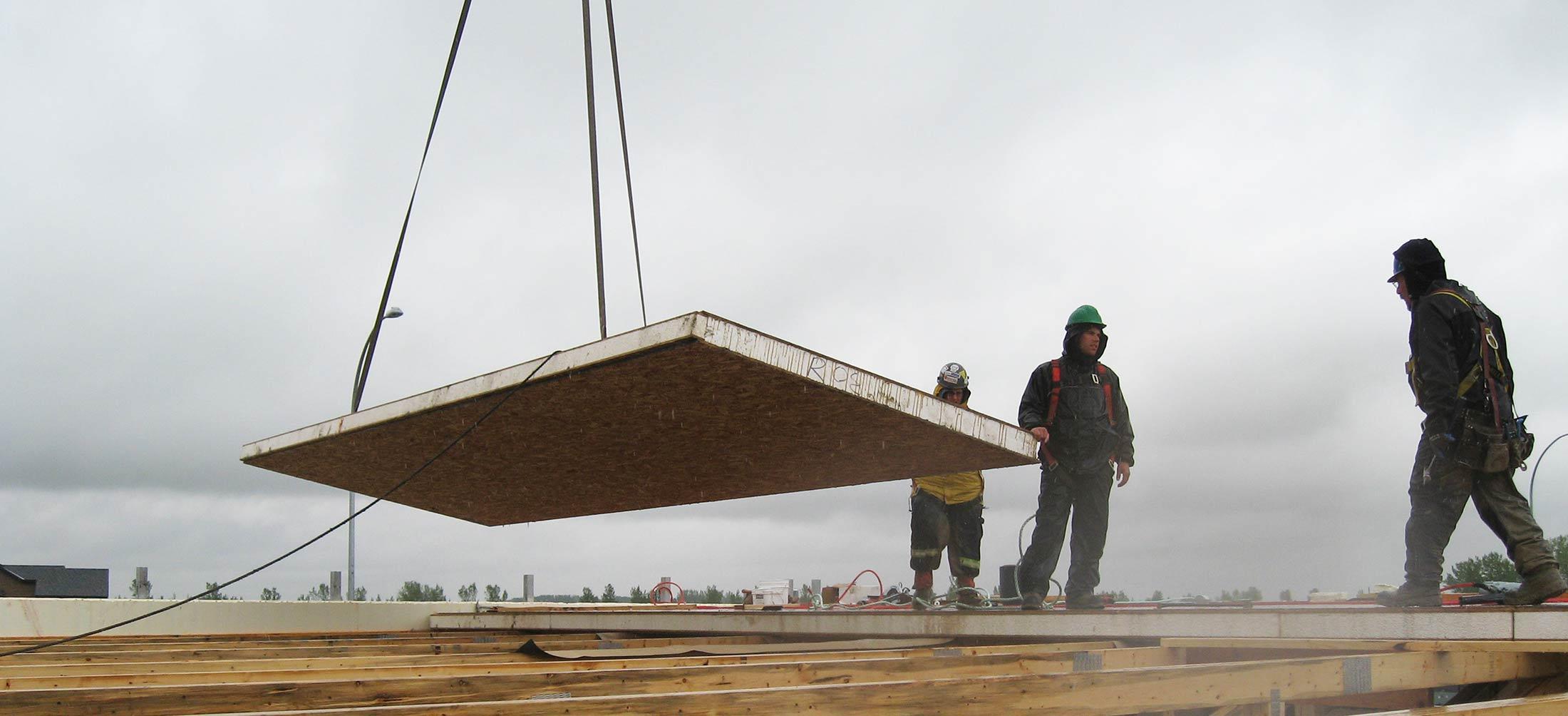 Tim Horton's SIP Roof